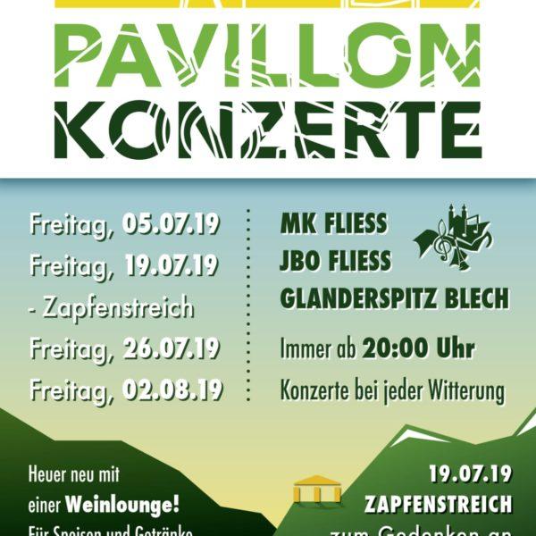 Pavillon Konzerte 2019